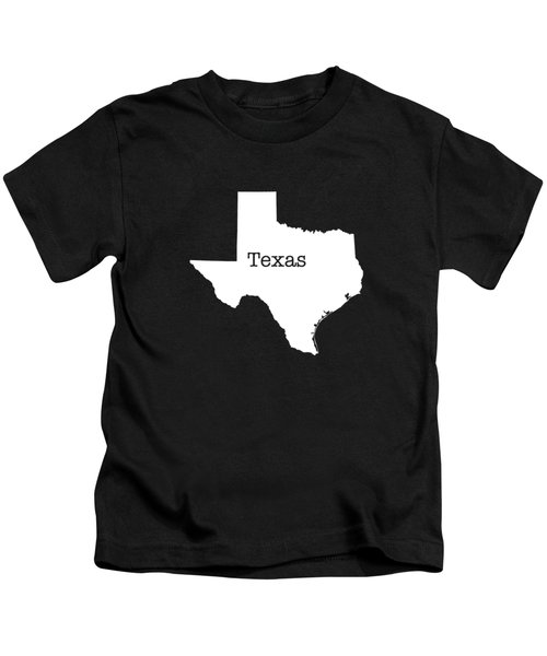 Texas State Kids T-Shirt by Bruce Stanfield