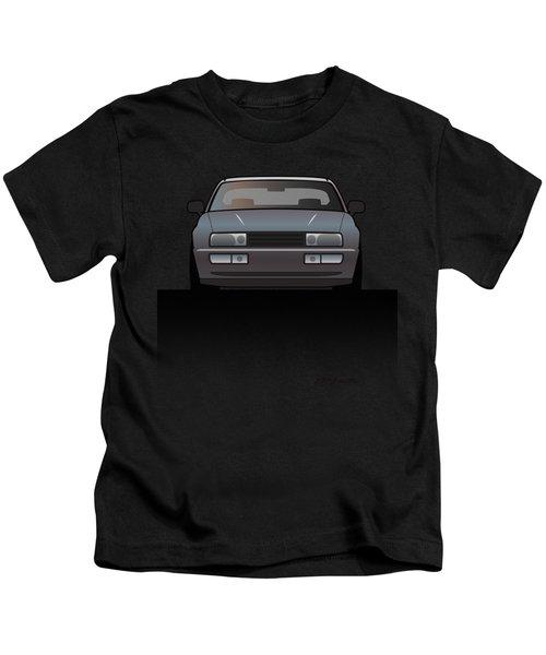 Modern Euro Icons Series Vw Corrado Vr6 Kids T-Shirt