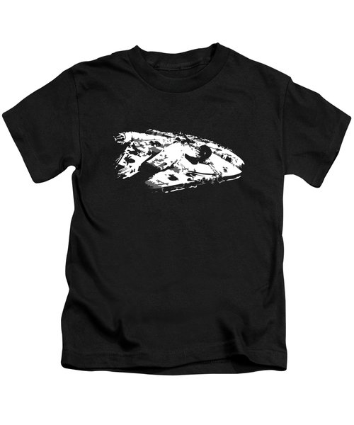 The Falcon In The Shadows Kids T-Shirt