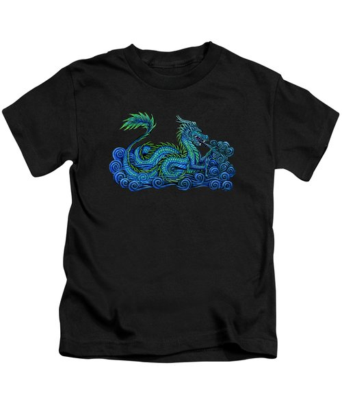 Chinese Azure Dragon Kids T-Shirt