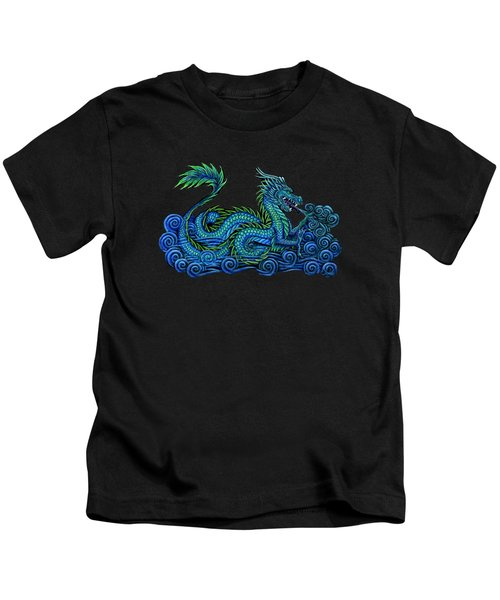Chinese Azure Dragon Kids T-Shirt