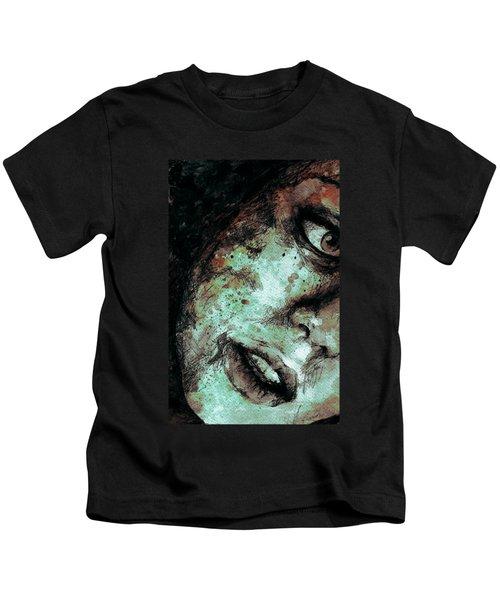 Chase My Blue Away - Rust Kids T-Shirt