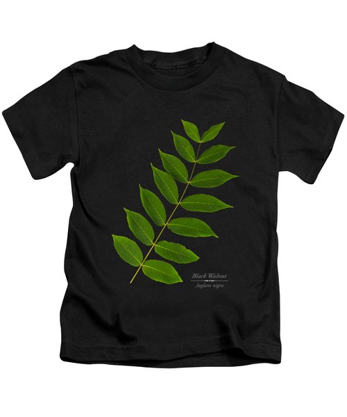 Black Walnut Kids T-Shirt