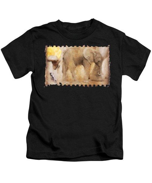 Elephant Baby No 01 Kids T-Shirt