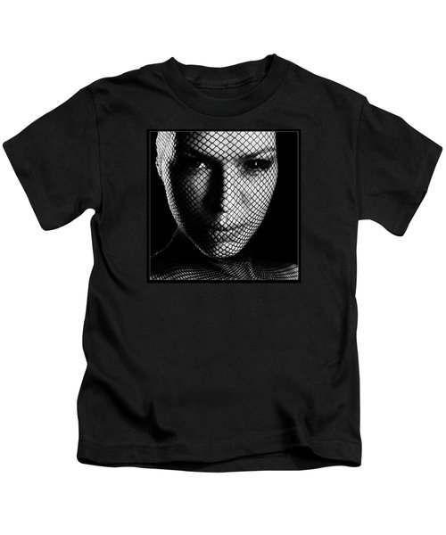 Face Lacemasked #4719 Kids T-Shirt