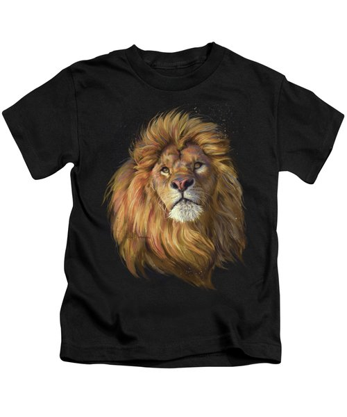 African Lion Kids T-Shirt