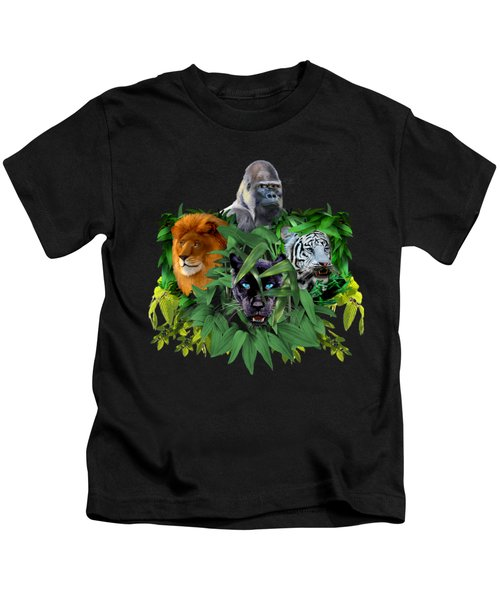 Jungle Guardians Kids T-Shirt