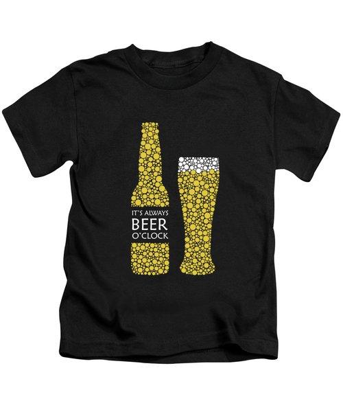 Its Always Beer Oclock Kids T-Shirt