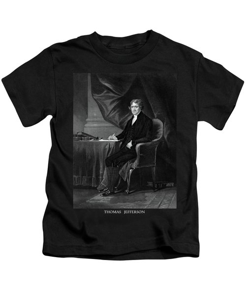 Thomas Jefferson Kids T-Shirt