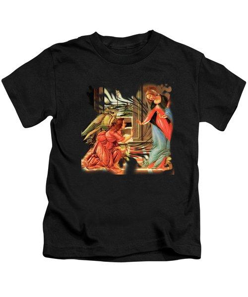 The Annunciation Virgin Mary Archangel Gabriel Kids T-Shirt