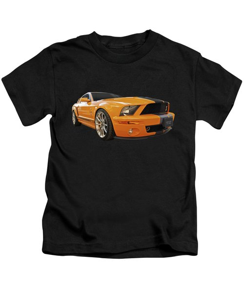 Cobra Power - Shelby Gt500 Mustang Kids T-Shirt