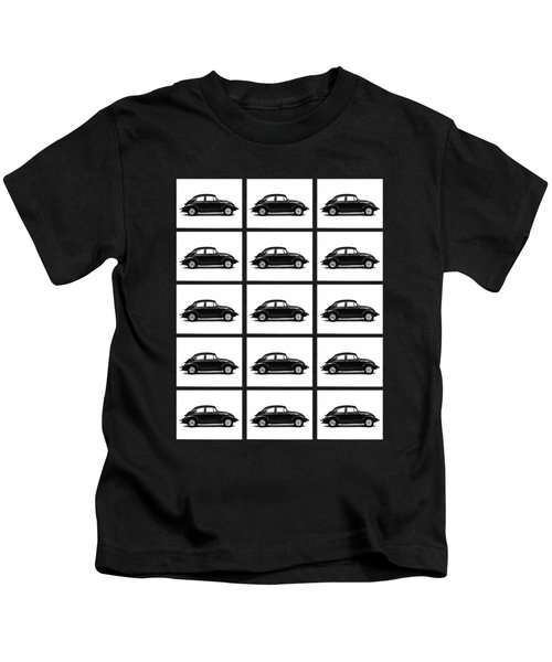 Vw Theory Of Evolution Kids T-Shirt by Mark Rogan