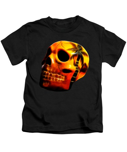 Glowing Skull Kids T-Shirt