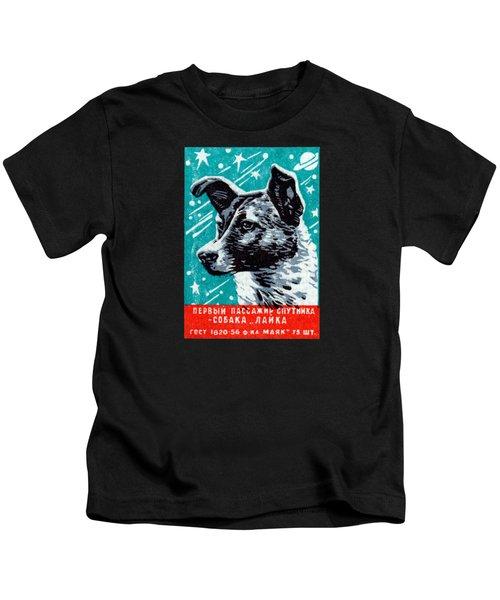 1957 Laika The Space Dog Kids T-Shirt