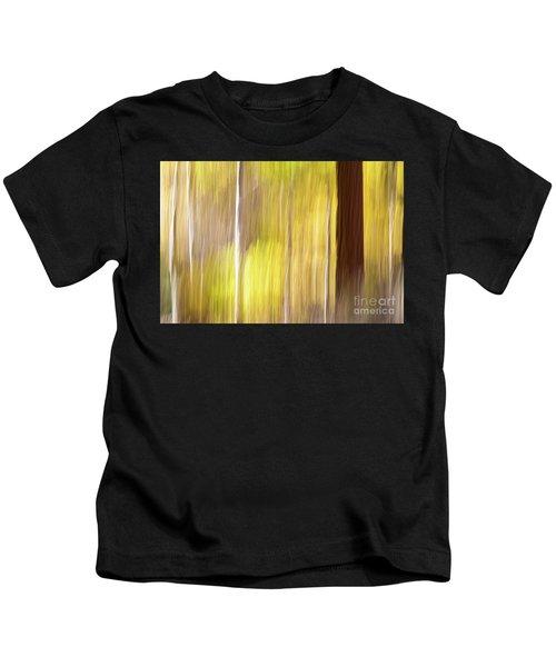 Aspen Blur #1 Kids T-Shirt