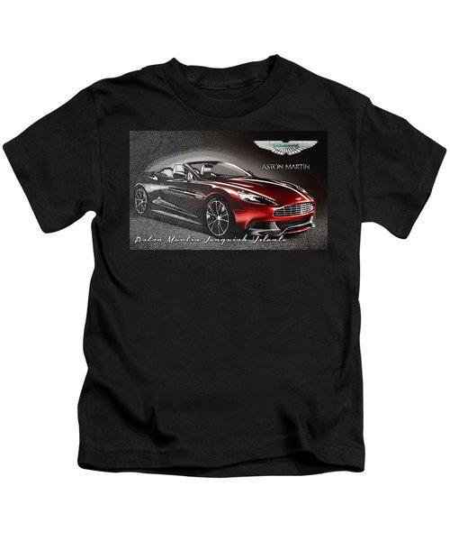 Aston Martin Vanquish Volante  Kids T-Shirt
