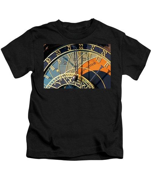 Astronomical Clock Prague Kids T-Shirt