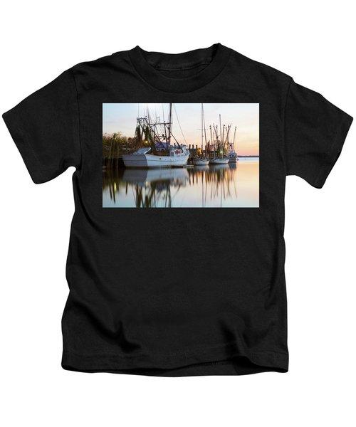 At Rest - Shem Creek Kids T-Shirt