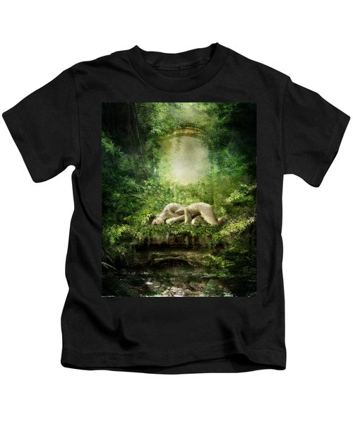 At Sleep Kids T-Shirt