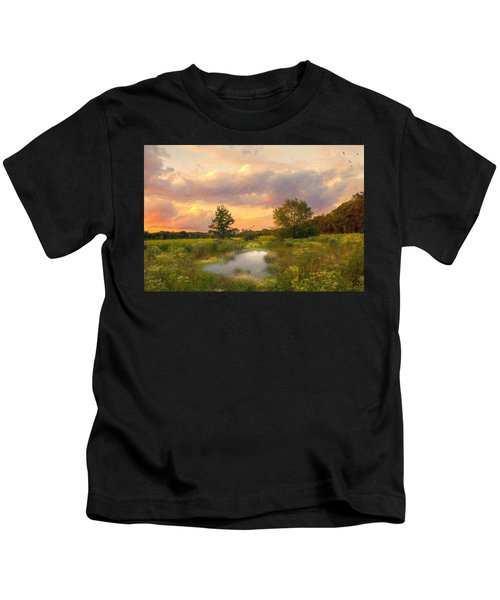 At The End Of The Day Kids T-Shirt