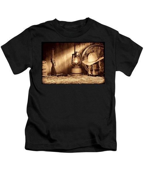 At The Old Ranch Kids T-Shirt