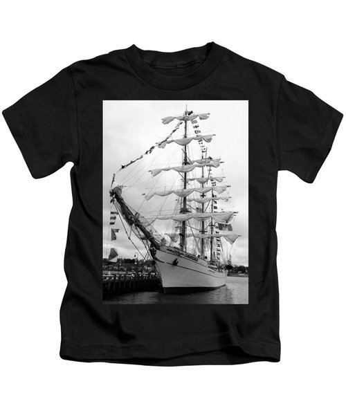 At The Pier Kids T-Shirt