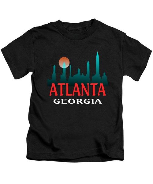 Atlanta Georgia Design Kids T-Shirt
