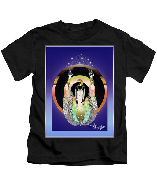 Atlantis - Copper Ring Energy Alchemy Kids T-Shirt