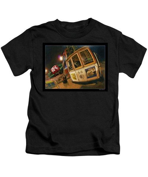 Att Park At Night Kids T-Shirt