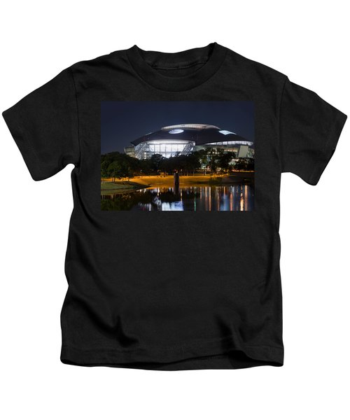 Dallas Cowboys Stadium 1016 Kids T-Shirt