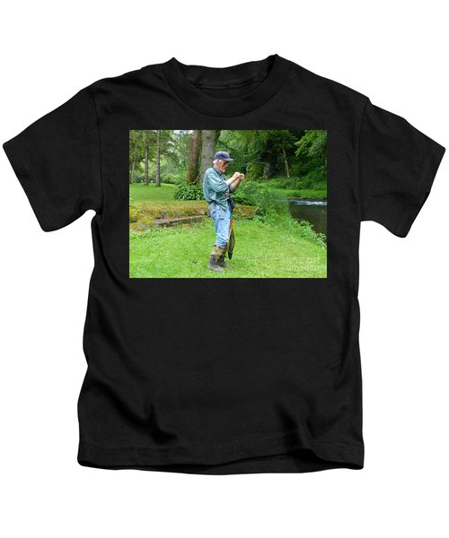 Attaching The Lure Kids T-Shirt