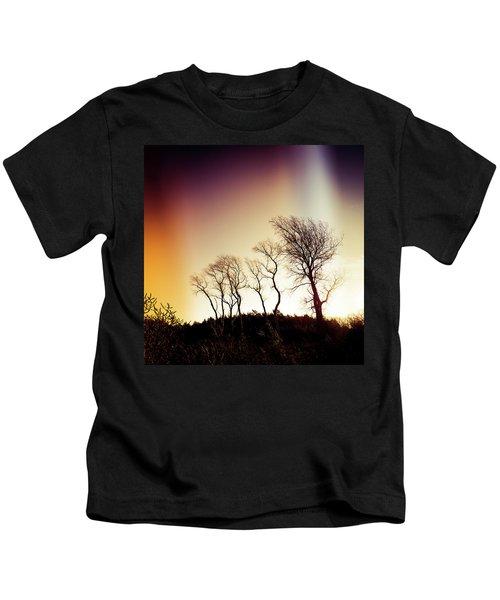 Aurora Borealis Kids T-Shirt