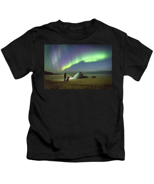 Aurora Photographers Kids T-Shirt