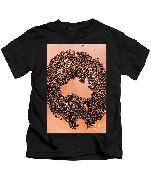 Australia Cafe Artwork Kids T-Shirt