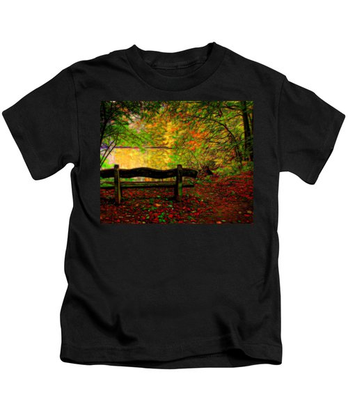 Autumn Bench Kids T-Shirt