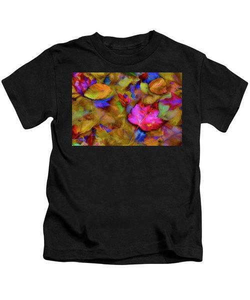 Autumn Breeze Kids T-Shirt