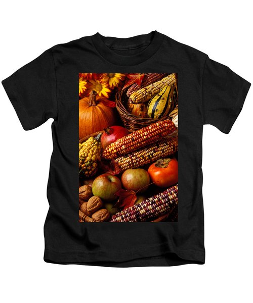 Autumn Harvest  Kids T-Shirt