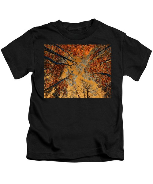 Autumn In The Forest Kids T-Shirt
