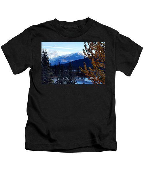 Autumn In The Mountains Kids T-Shirt