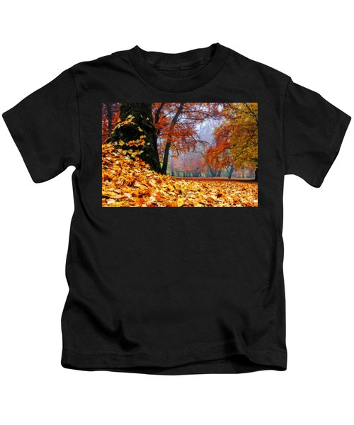 Autumn In The Woodland Kids T-Shirt