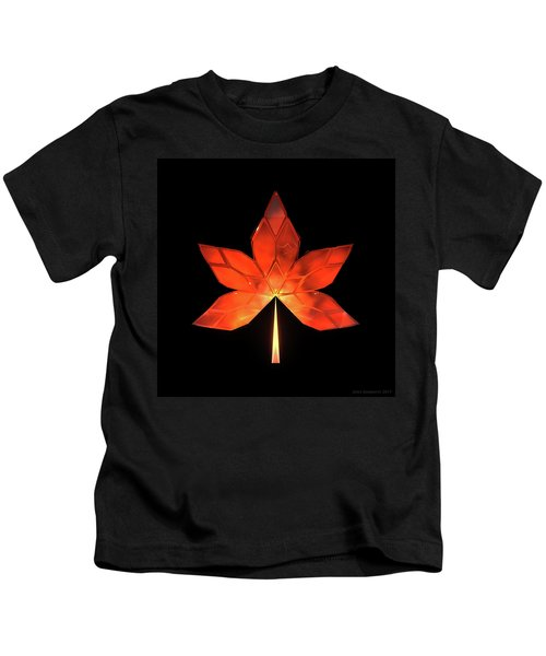 Autumn Leaves - Frame 320 Kids T-Shirt