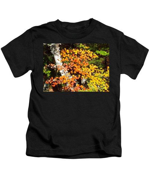 Autumn Maple Kids T-Shirt