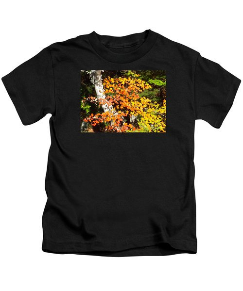 Autumn Maple Kids T-Shirt