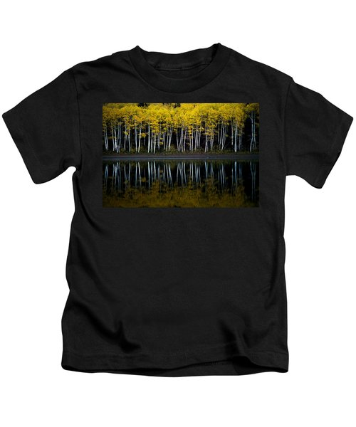 Autumn Mirror Kids T-Shirt