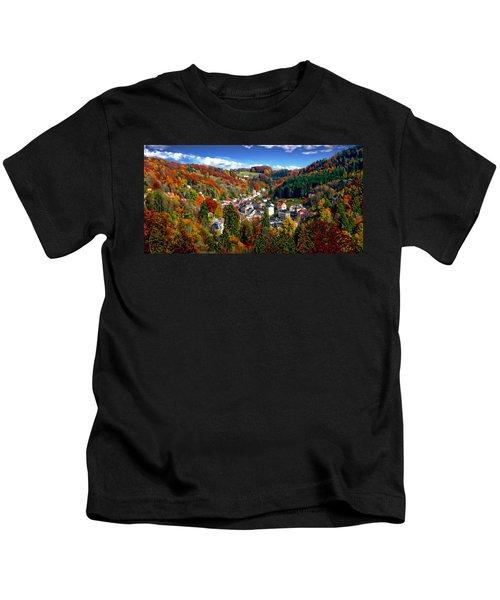 Autumn Panorama Kids T-Shirt