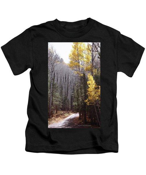 Autumn Road Kids T-Shirt
