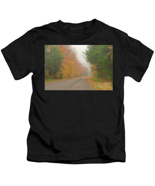 Autumn Roads Kids T-Shirt