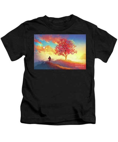 Autumn Sunrise Kids T-Shirt