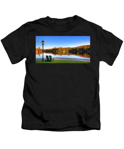 Autumn View For Two Kids T-Shirt