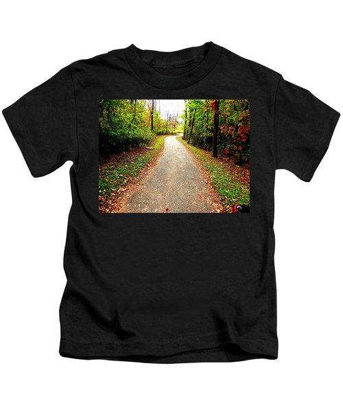 Autumn Walk Kids T-Shirt